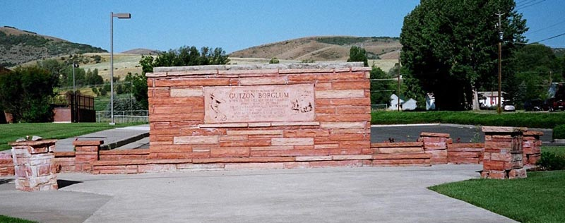 The Previous Gutzon Borglum Monument